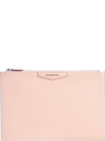 Givenchy Beige Antigona Clutch