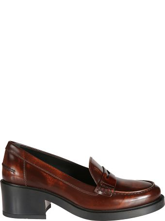 Tod's T50 Mid-length Heel Penny Loafers