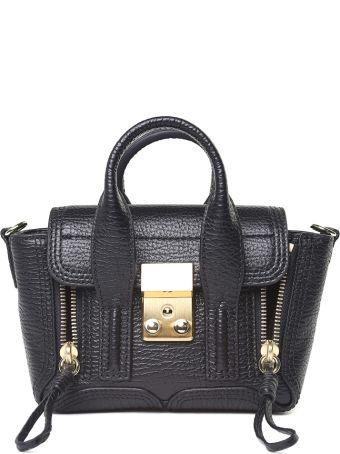 3.1 Phillip Lim Pashli Nano Pebbled-leather Cross-body Bag