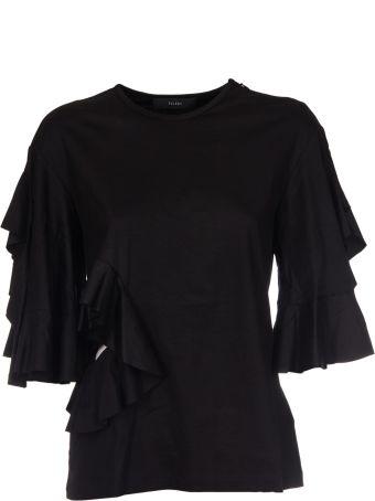 Ellery Ruffle Cutout T-shirt