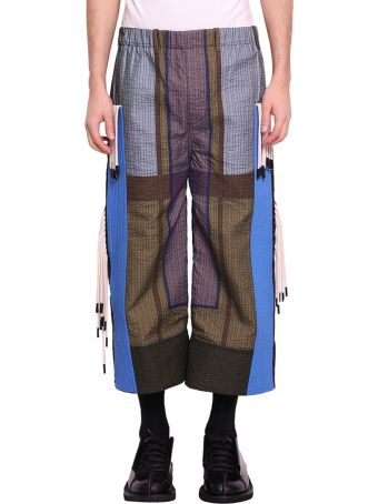 Craig Green Tent Multicolored Quilted Track Pants