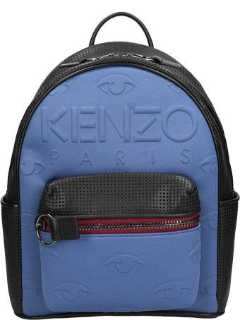 Kenzo Blue Fabric Kombo Backpack