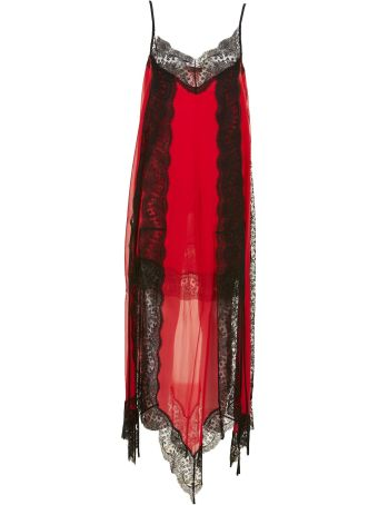 Christopher Kane Lace Trim Layered Dress