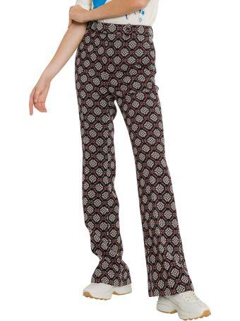 Gucci Gg Diamond Wool Pants