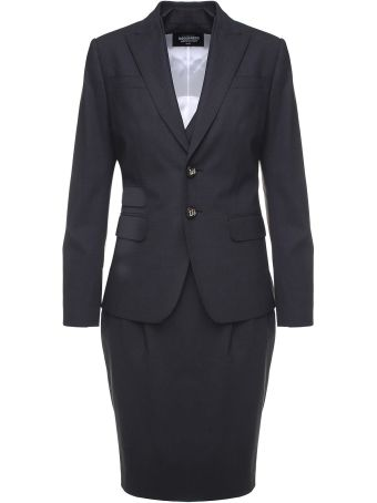 Dsquared2 Wool Dress Suit