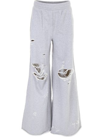 Destroyed Terry Sweatpants