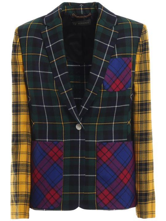 Versace Checked Blazer