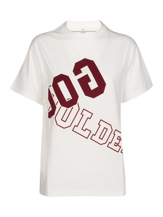 Golden Goose Logo Print T-shirt