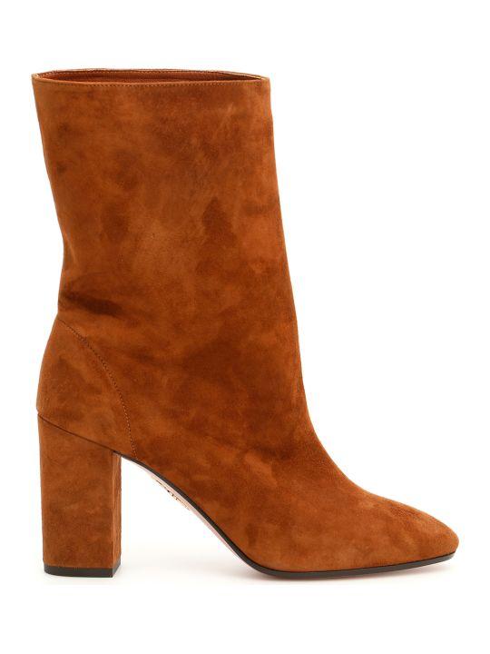 Aquazzura Boogie Suede Boots