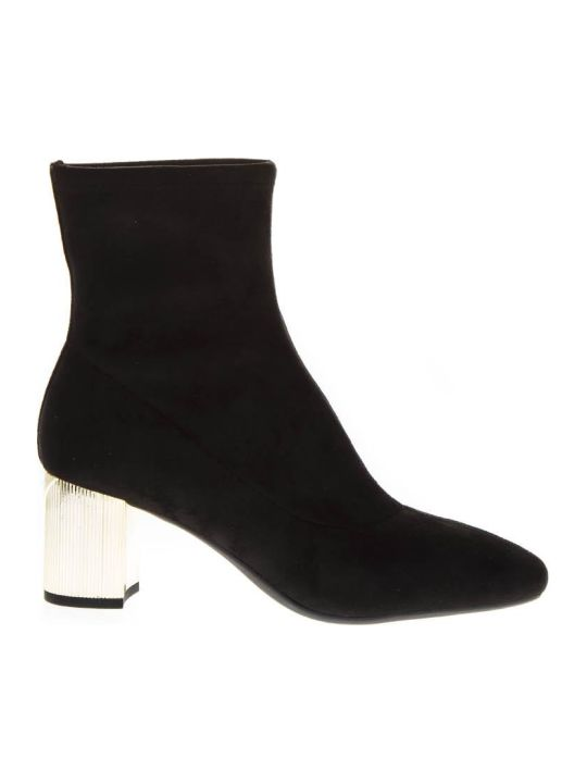 MICHAEL Michael Kors Paloma Black Leather Ankle Boot