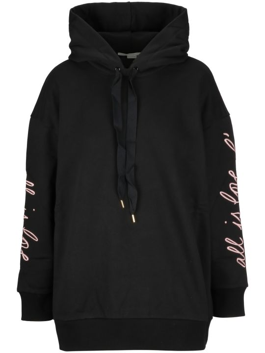 Stella McCartney All Is Love Embroidered Hoodie