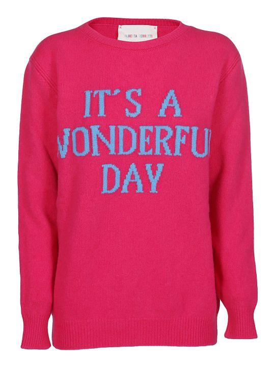 Alberta Ferretti It's A Wonderful Day Sweater