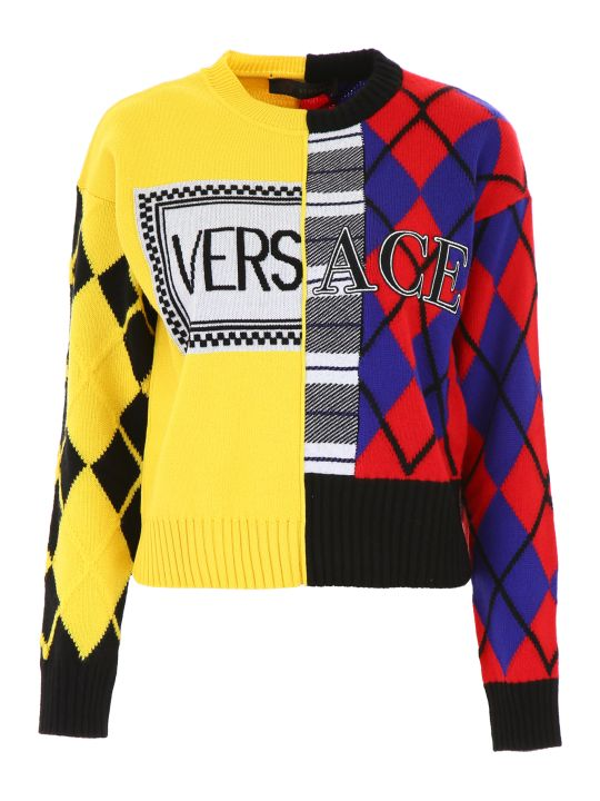 Versace Logo Pullover