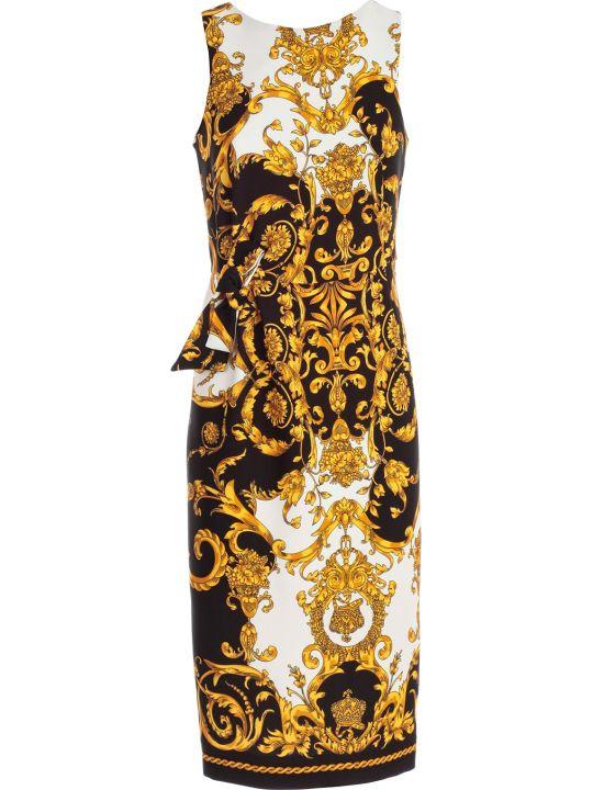 Parosh Dress W/s Pencil W/knot