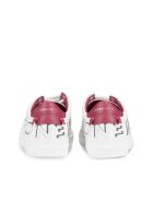 Givenchy Printed Logo Sneakers - Bianco fuxia