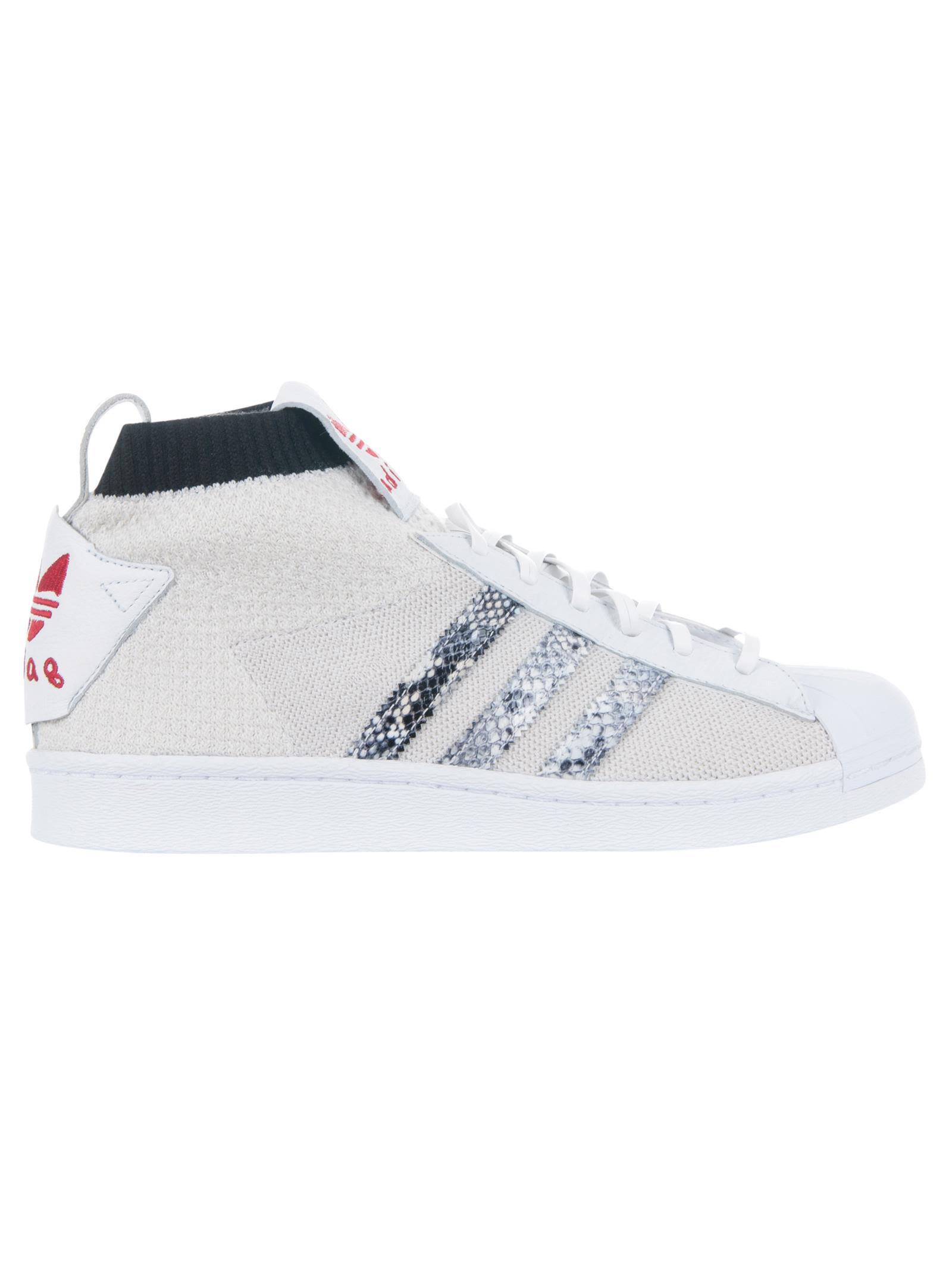 ADIDAS ORIGINALS BY UNITED ARROWS & SONS Adidas X United Arrows & Sons Ultra Star in Bianco