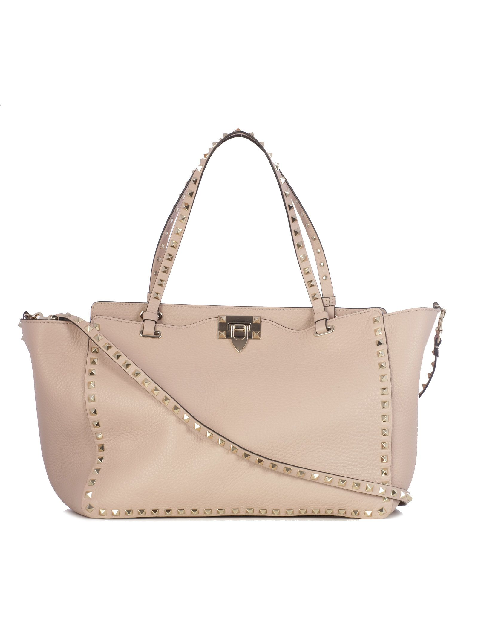 Valentino Bags EMBELLISHED TRAPEZE TOTE