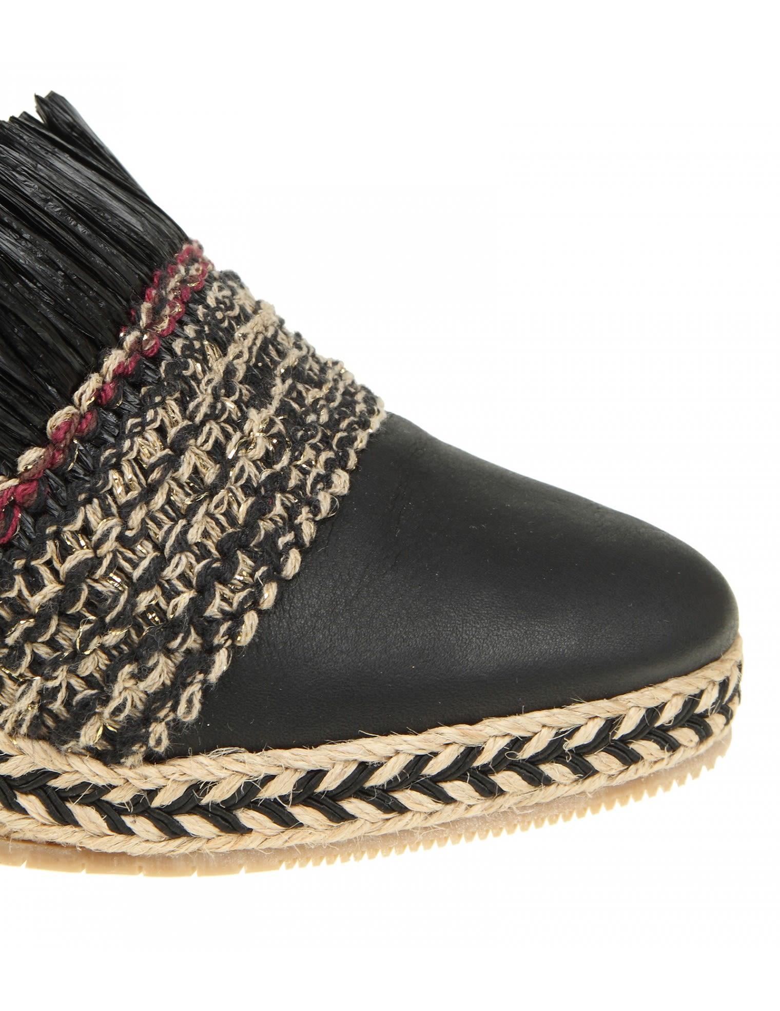 Black Llaten sandals Paloma Barceló Discount Wholesale Md7bv9m