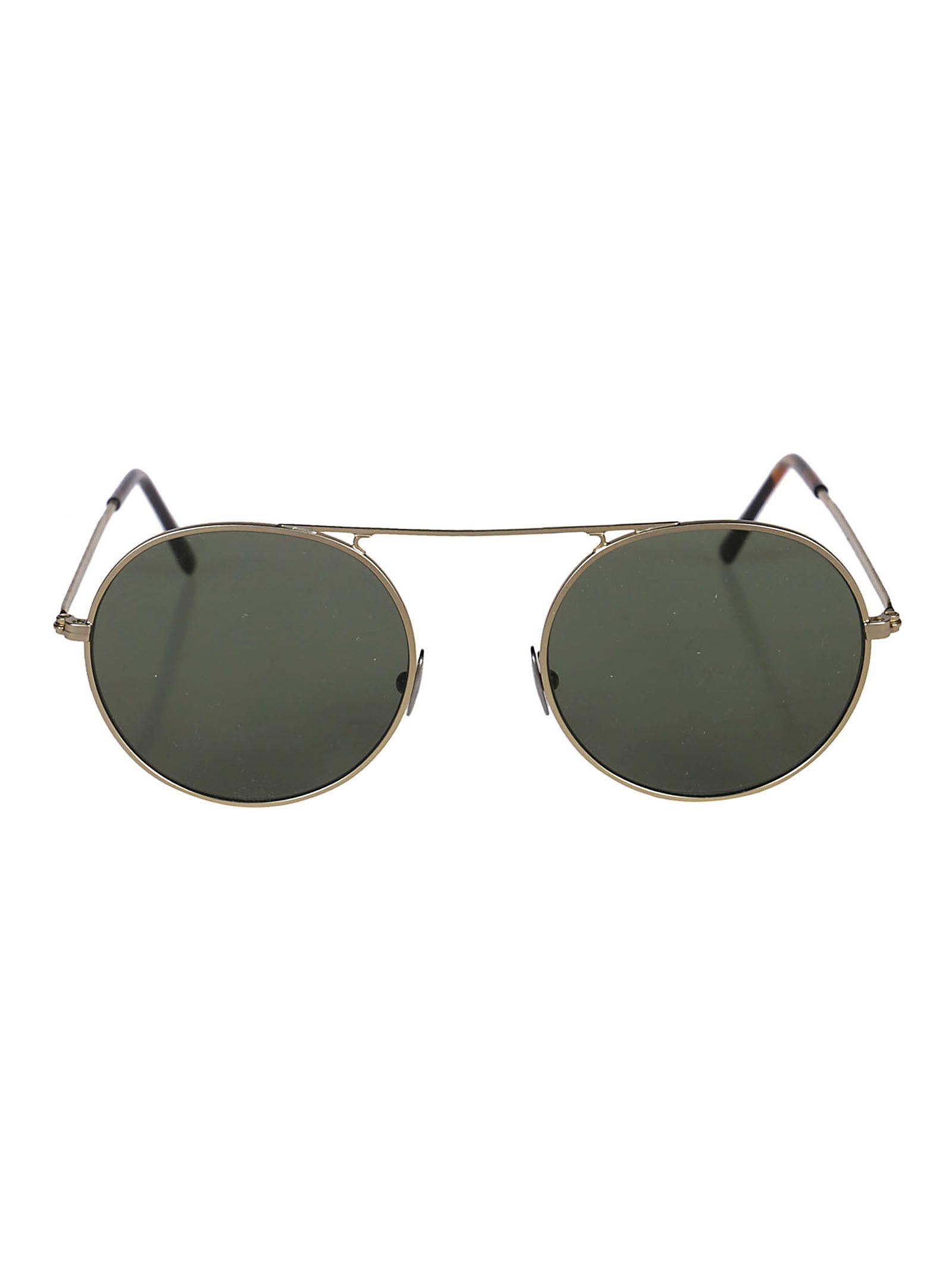 L.G.R Lgr Round Sunglasses in Gold Matt