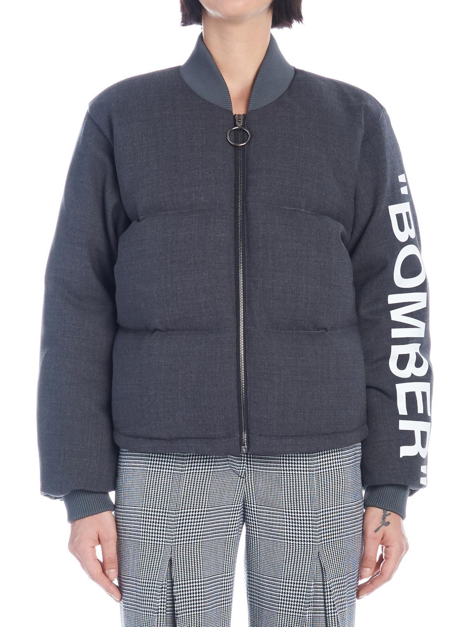 Off-white 'bomber' Jacket