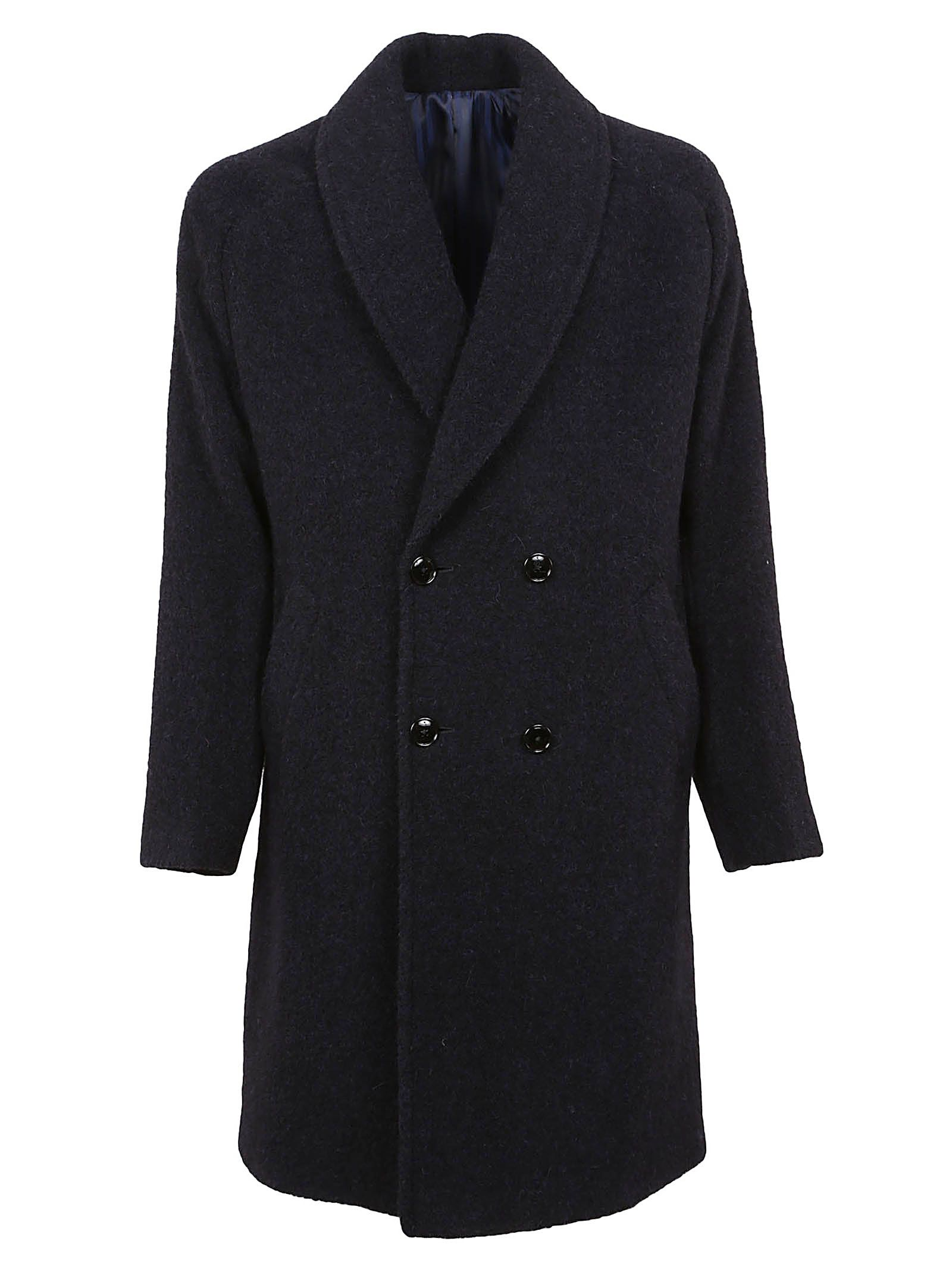 MASSIMO PIOMBO Double Breasted Coat in 1