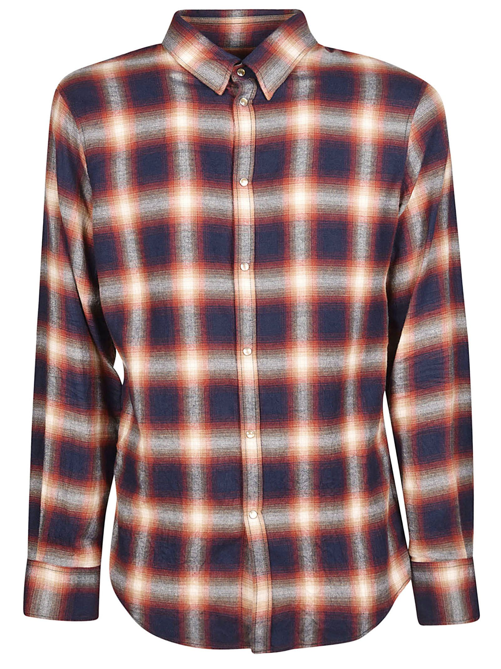 Dsquared2 Button Checked Shirt