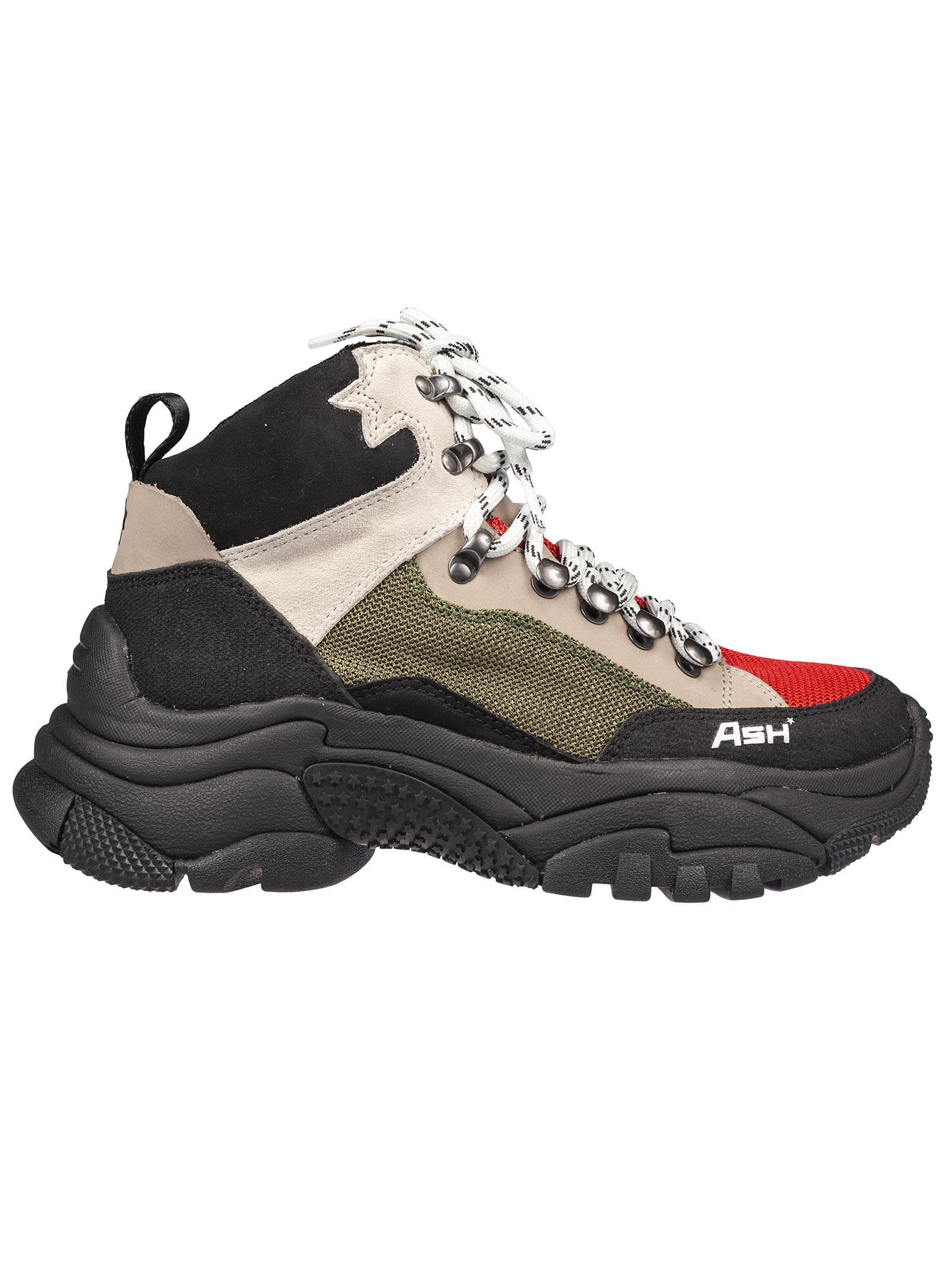 Ash Alfa Hi Top Sneakers