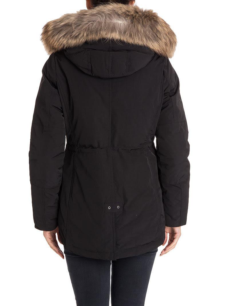 woolrich woolrich military parka black women 39 s coats. Black Bedroom Furniture Sets. Home Design Ideas