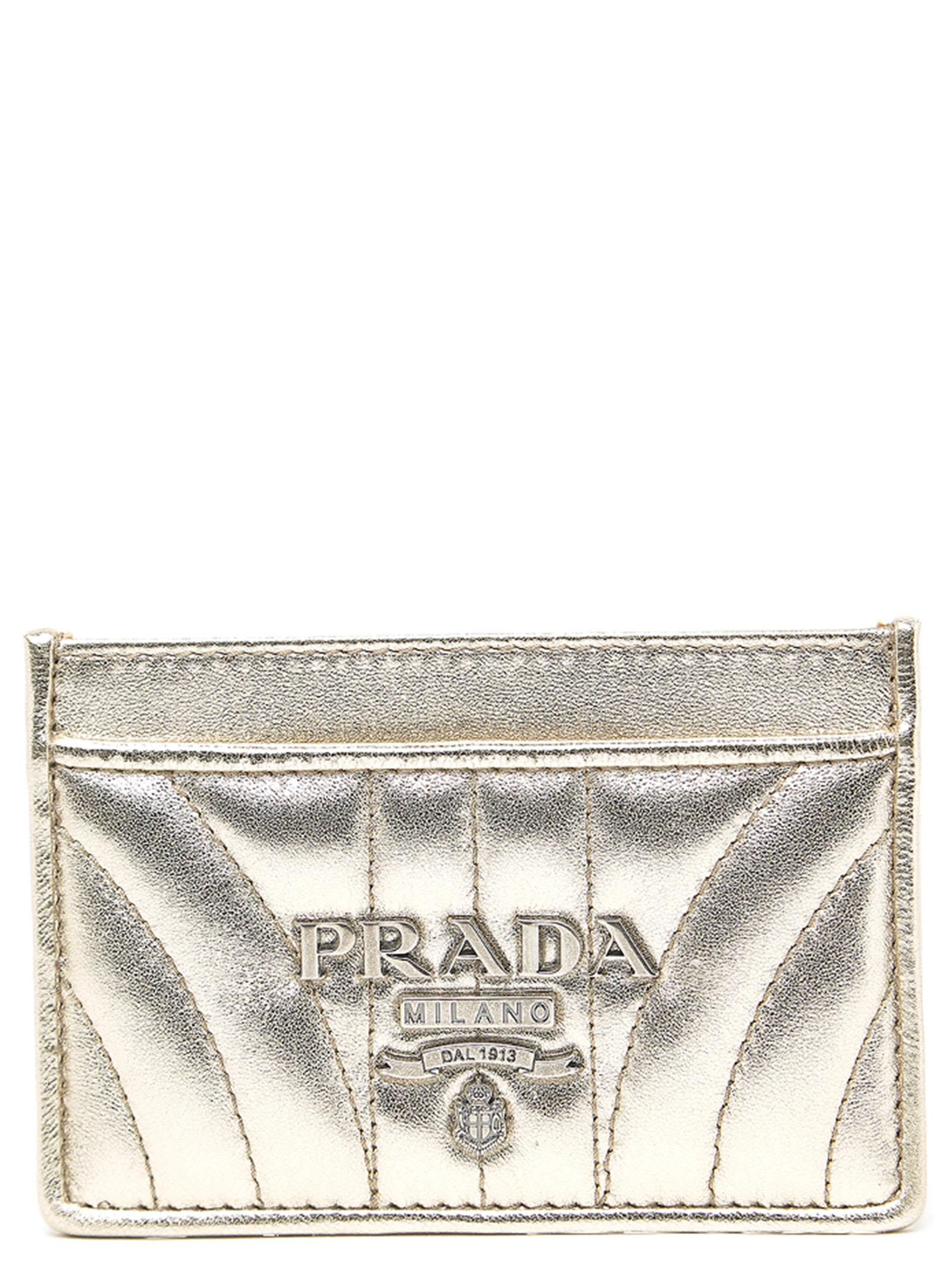 Cardholder in Metallic
