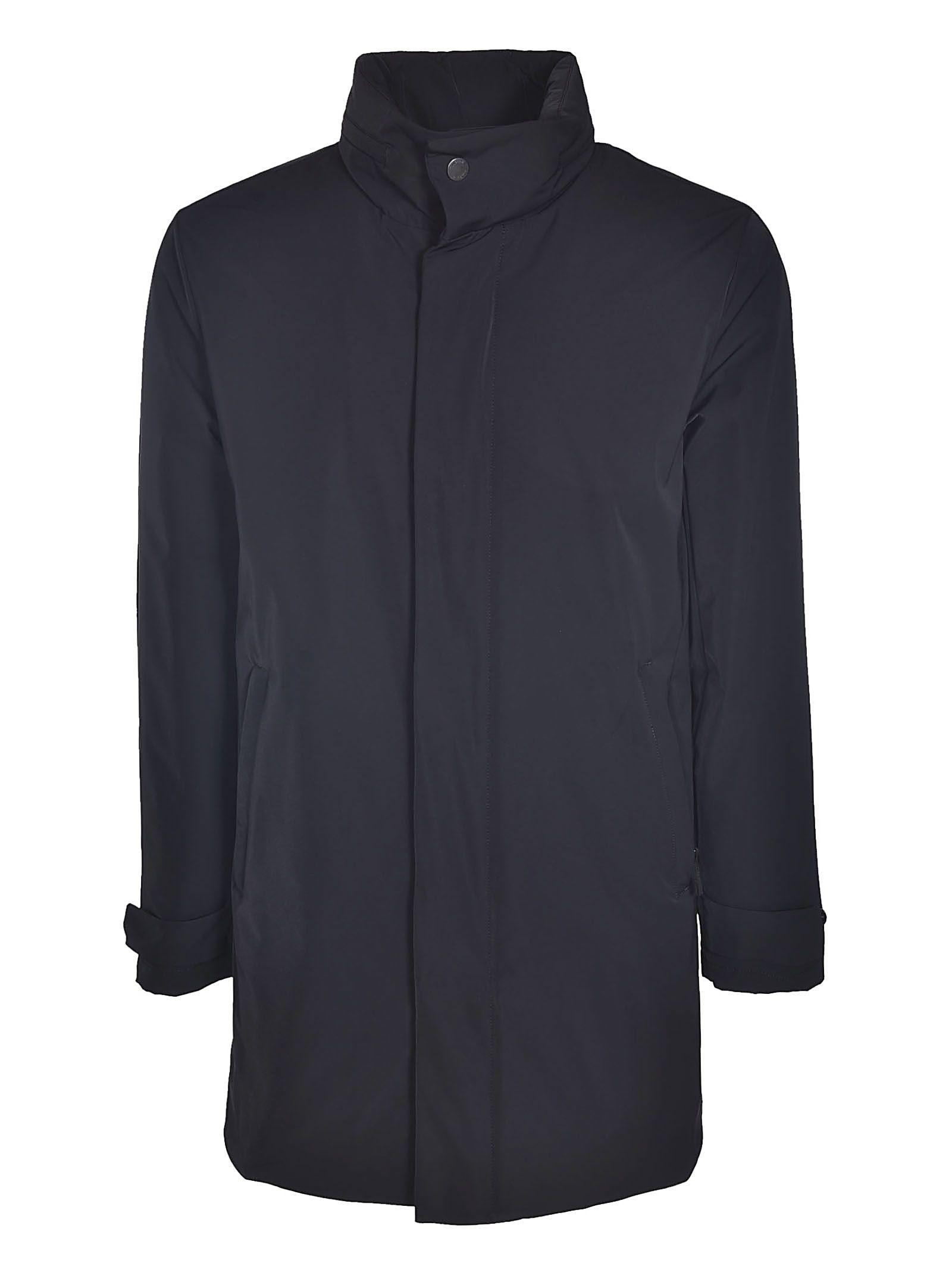 ALLEGRI Zipped Coat in Black