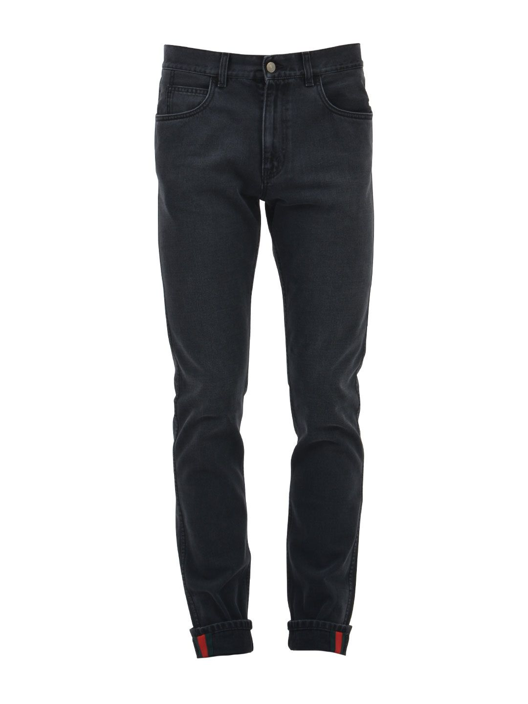Gucci Jeans With Web Detail 10430817