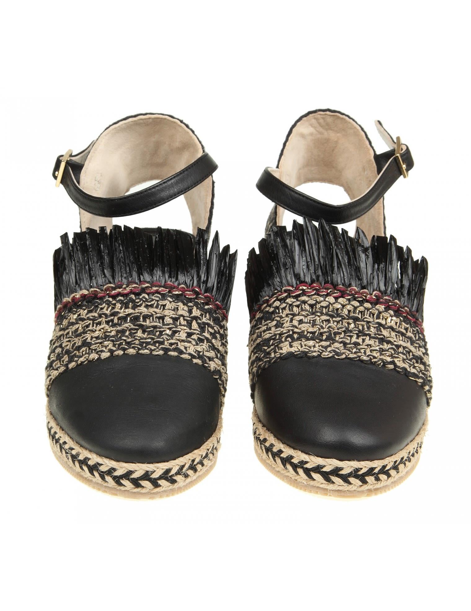 Black Llaten sandals Paloma Barcel�� gHmYqBOxp