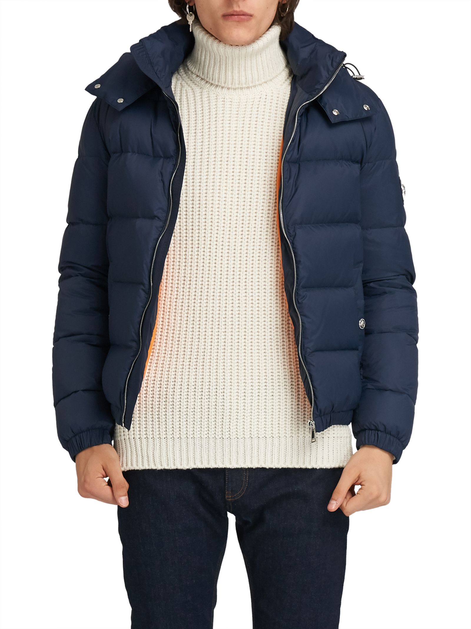 Gianni Versace Navy Quilted Jacket 9310545