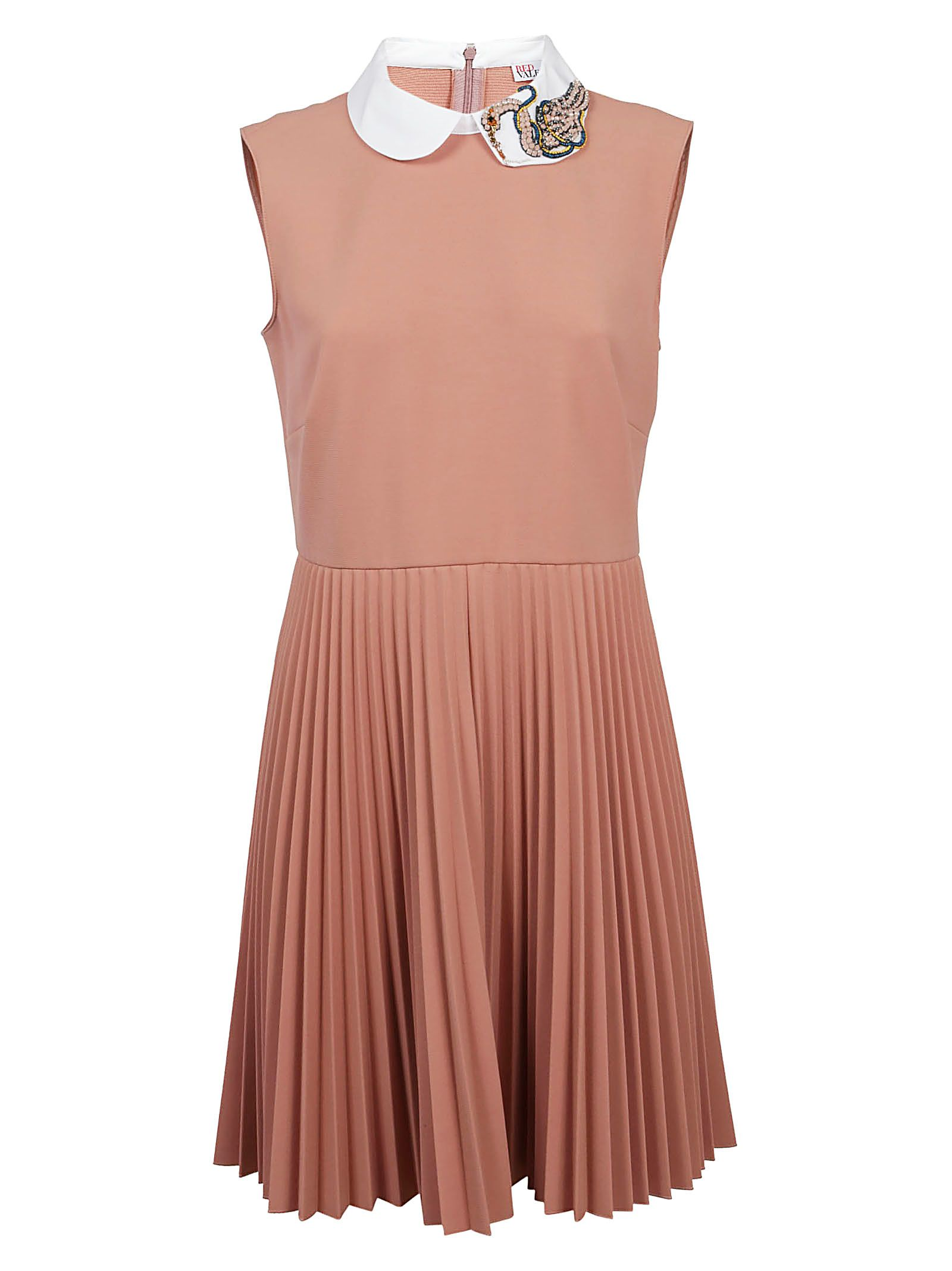 Red Valentino Flared Pleated Dress 10635865
