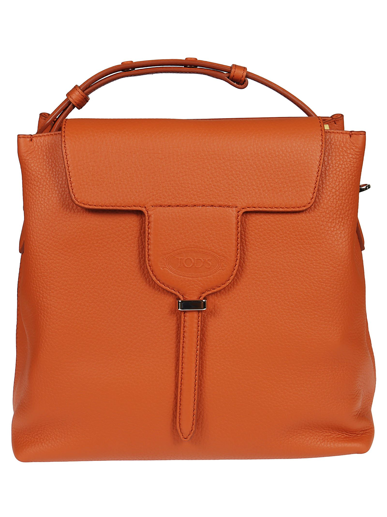 SQUARE FLAP TOTE