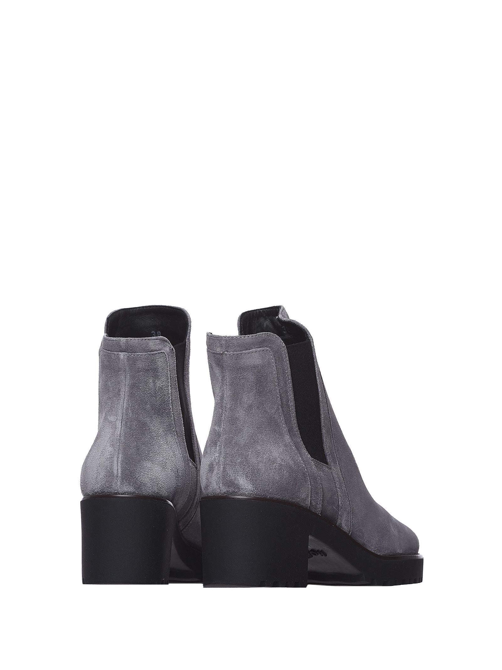 ... Hogan Ankle Boots H277 Grey