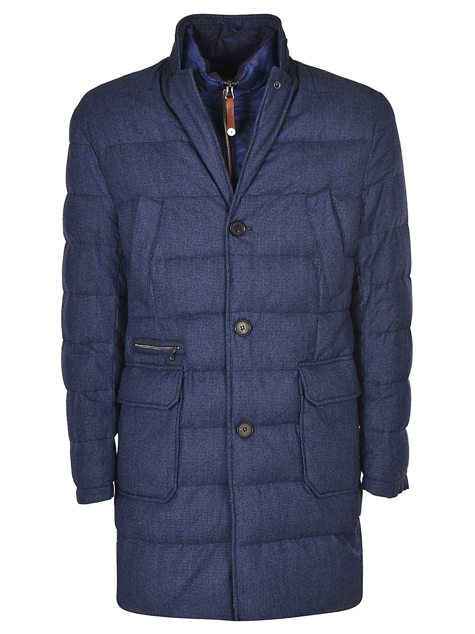 LUIGI BIANCHI MANTOVA Single Breasted Coat in U