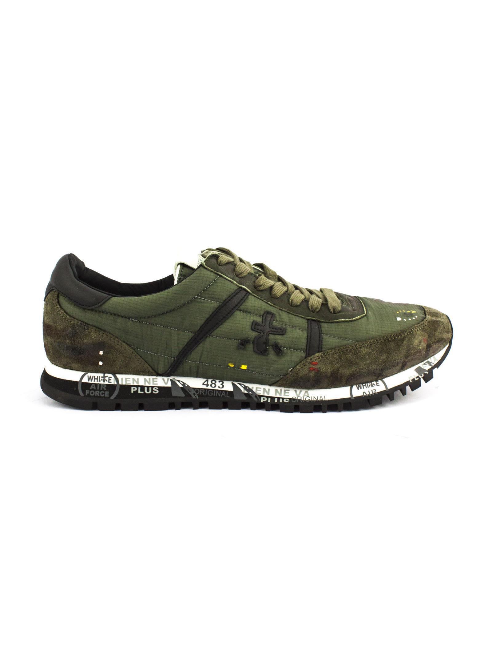 Army green Sean sneakers Premiata 28aUAE