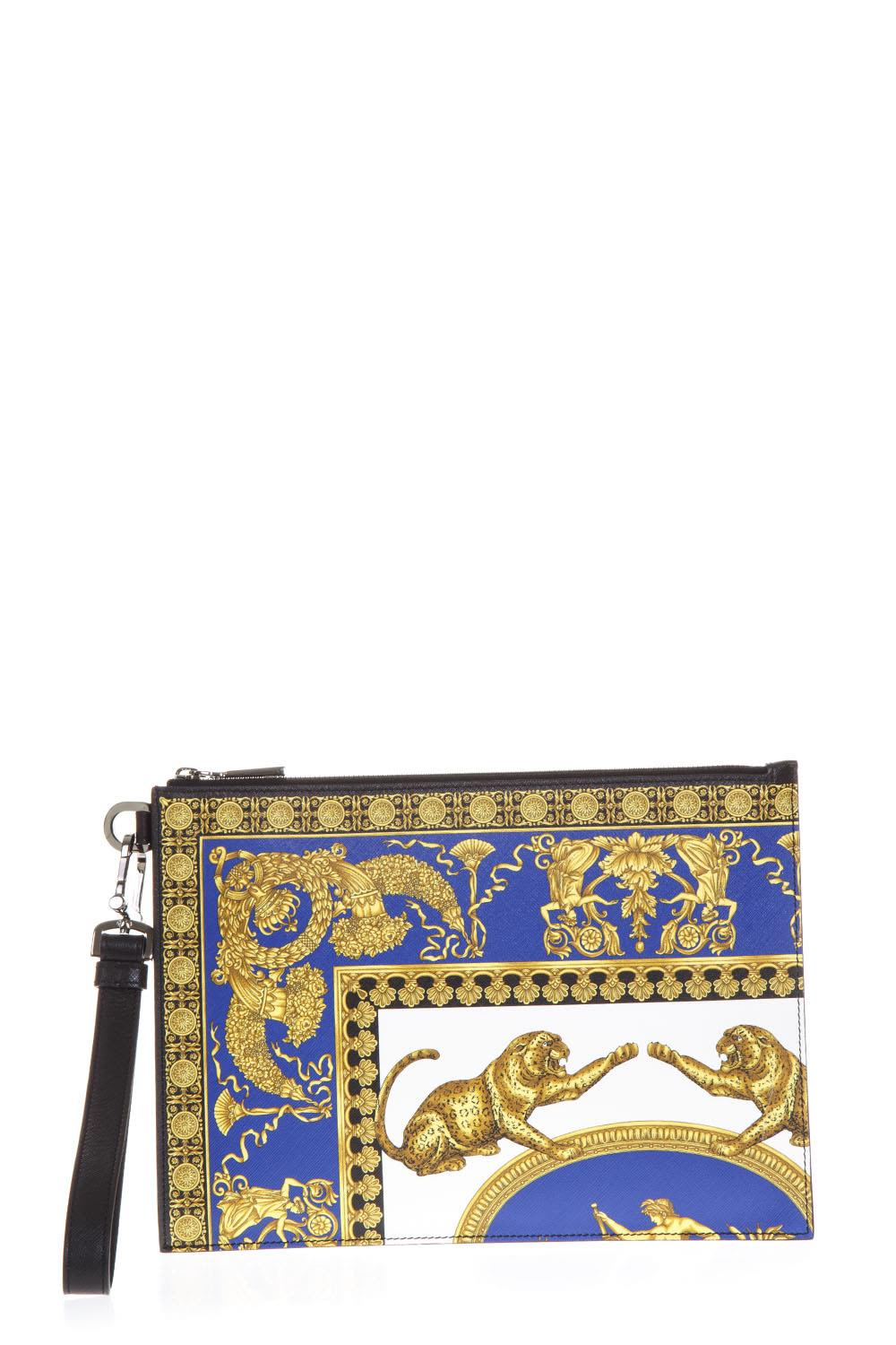 VERSACE PRINTED CLUTCH