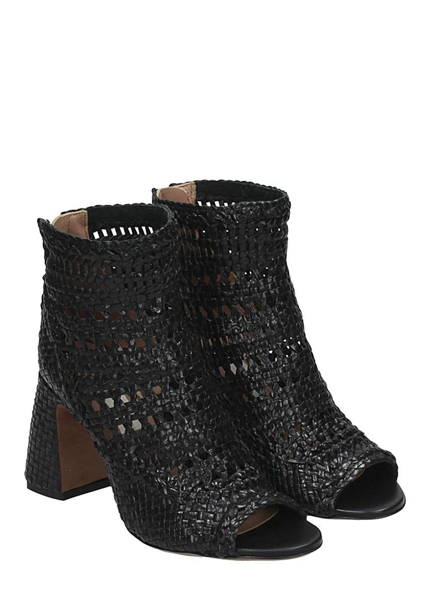 Professional Outlet Fashion Style L Autre Chose Woven Leather Ankle Boots Brand New Unisex Cheap Online JvKfe