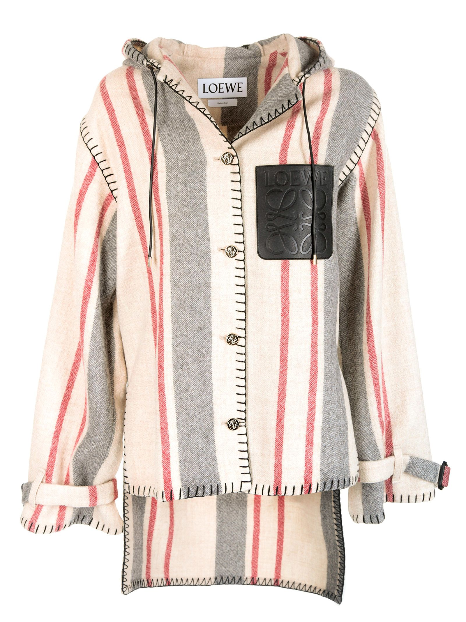 Loewe Striped Hoodie
