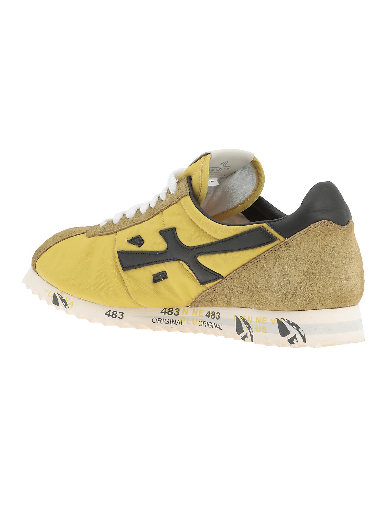 Hattori sneakers - Yellow & Orange Premiata iMZRoKuH8