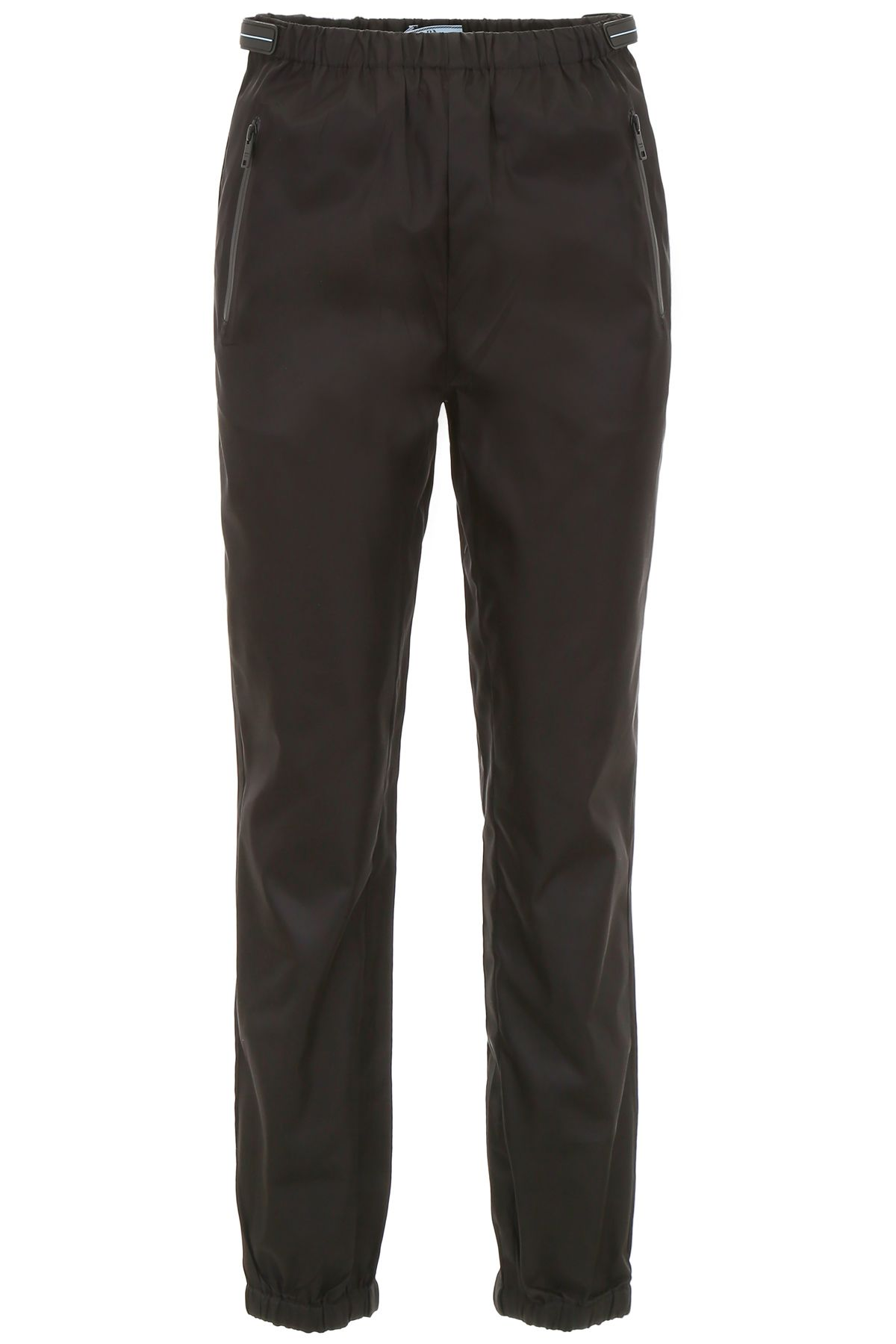 PRADA TROUSERS WITH PATCHES