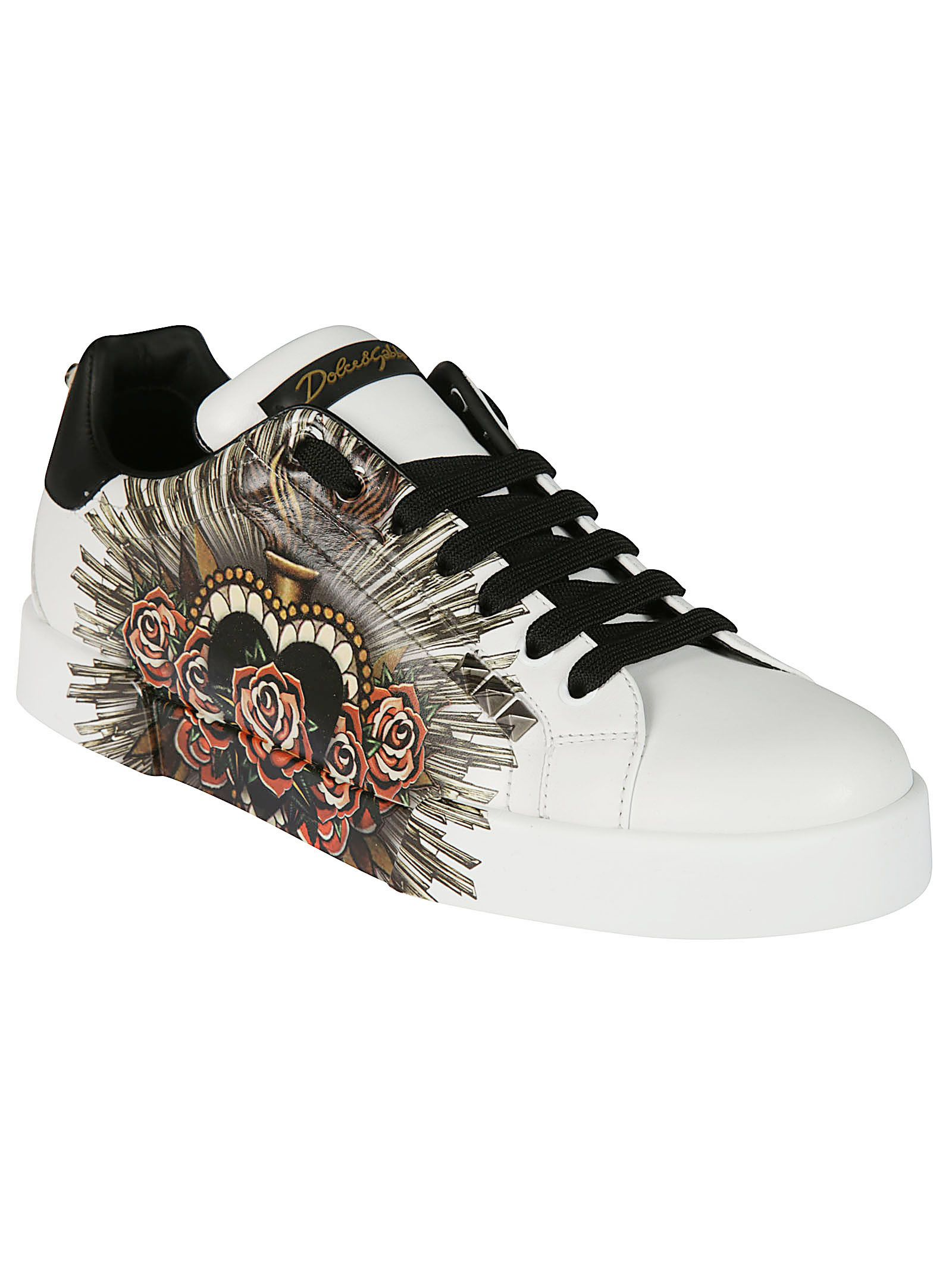 where to buy low price new styles online Dolce & Gabbana Sacred Heart Portofino sneakers free shipping best zhyLj4XYms