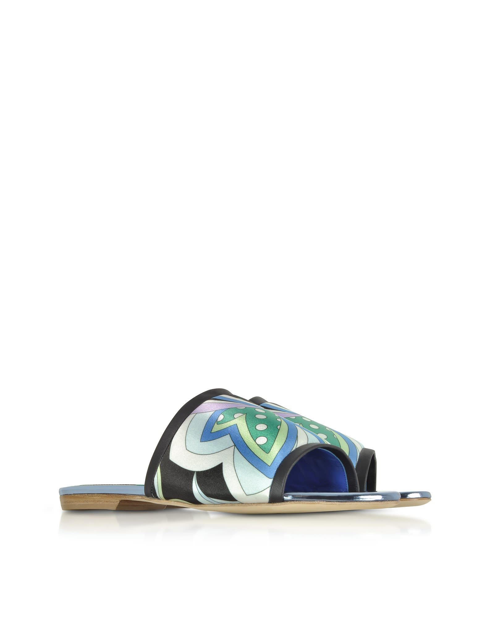 Emilio Pucci Leather Slide Sandals discount popular free shipping 100% guaranteed pre order online itH3IXH