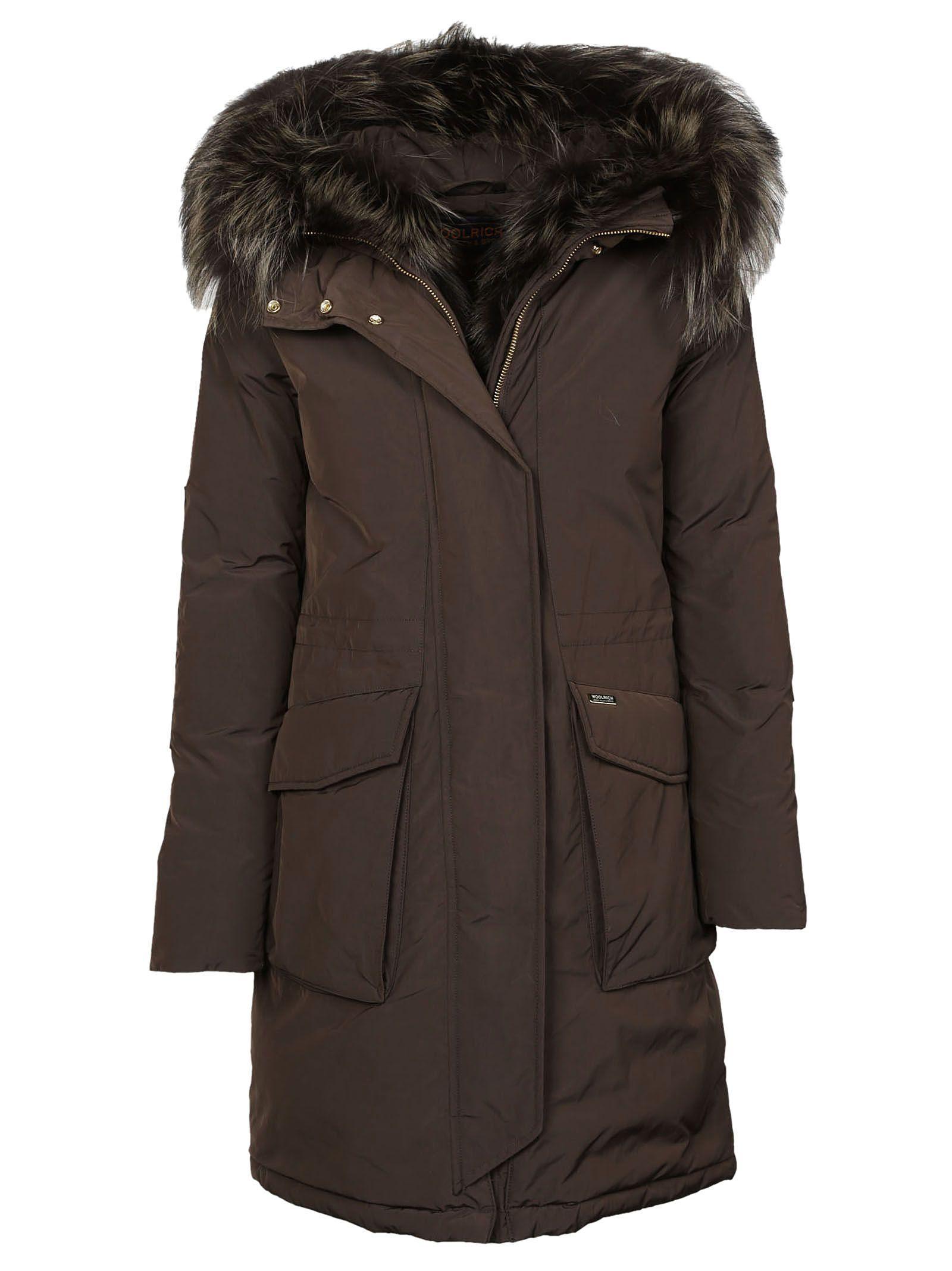 woolrich woolrich military parka brown women 39 s coats. Black Bedroom Furniture Sets. Home Design Ideas