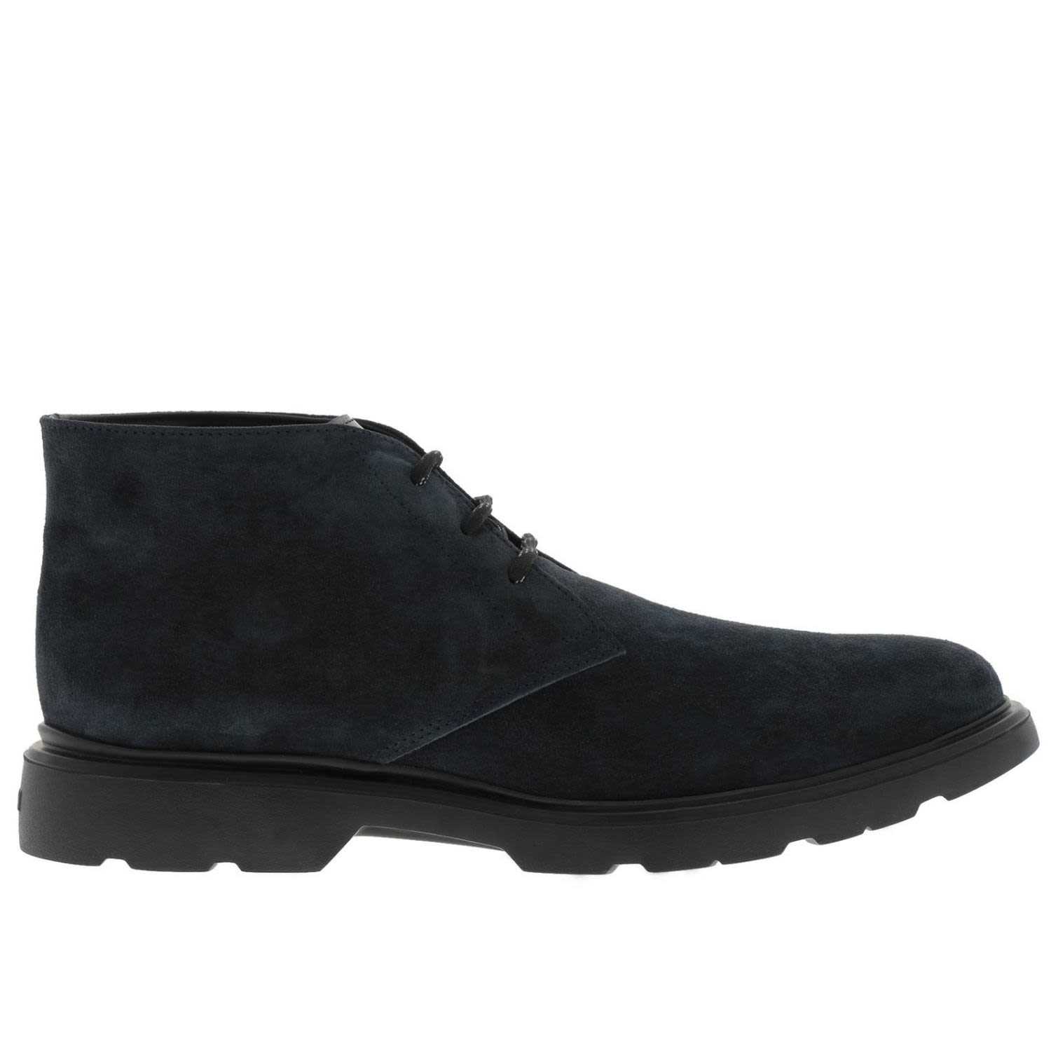 CHUKKA BOOTS SHOES MEN HOGAN