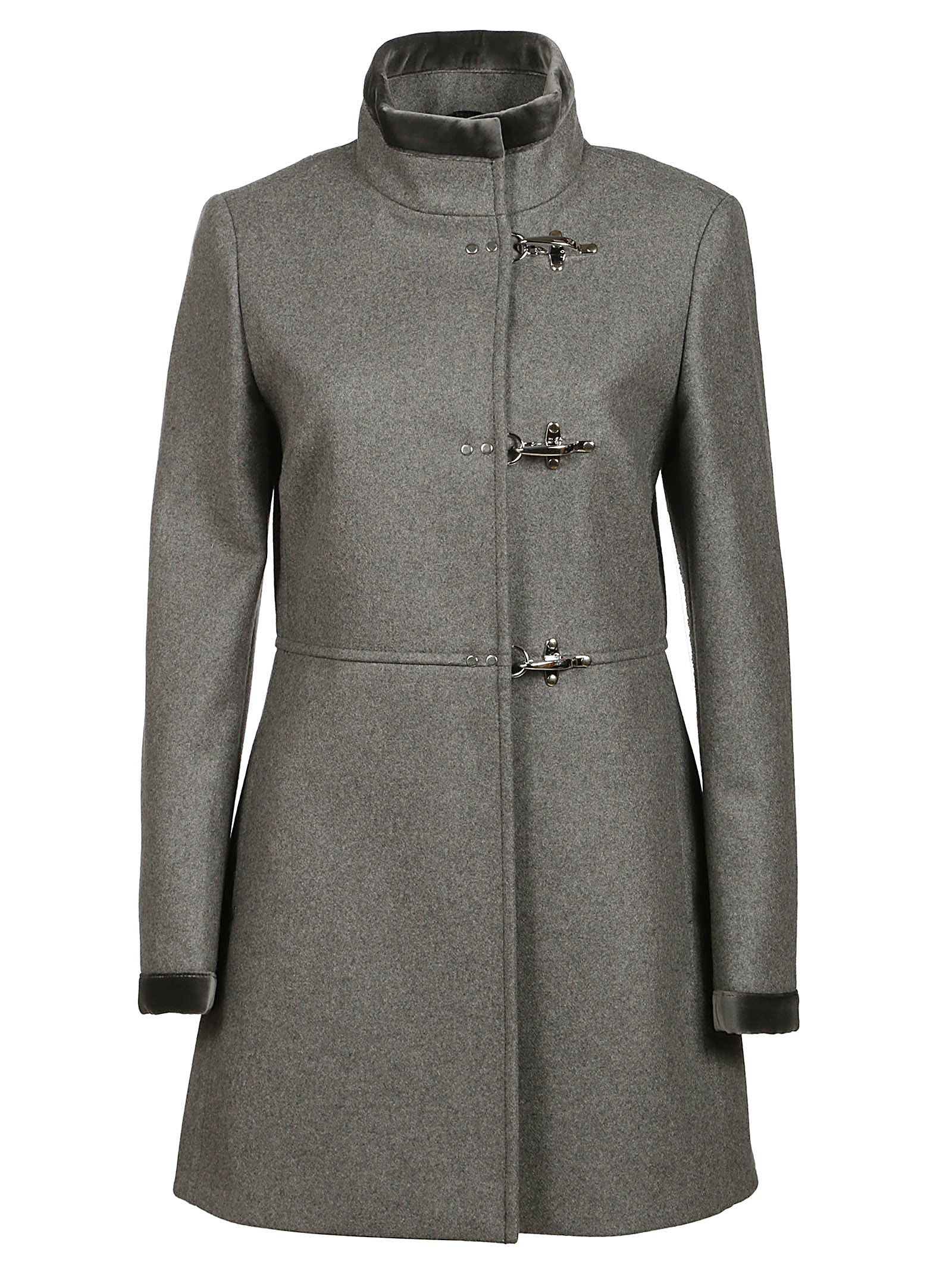 finest selection 69dd3 4a87a Virginia Mid-Length Coat in Grey