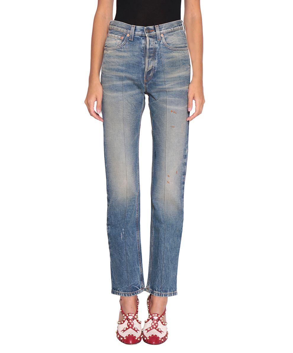 Gucci Cotton Denim Jeans 8963561
