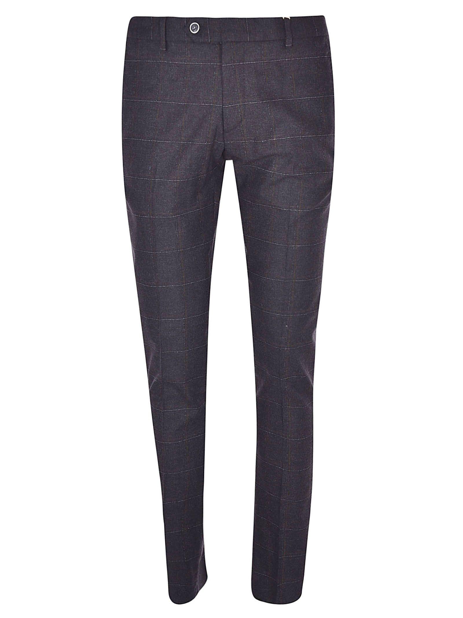 LUIGI BIANCHI MANTOVA Check Trousers in U